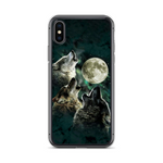 Moon Wolves Phone Case - American Wolves