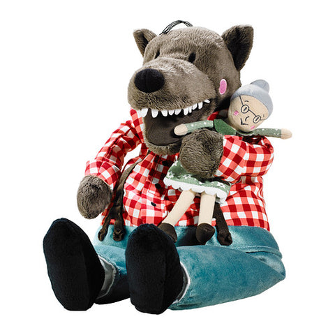 Granny and Big Bad Wolf Plush - American Wolves
