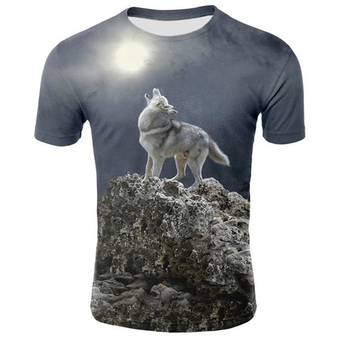Lost Wolf T-Shirt - American Wolves