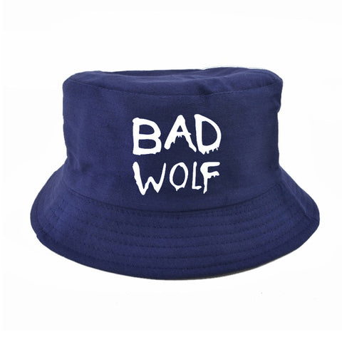 Blue Bad Wolf Bucket Hat - American Wolves