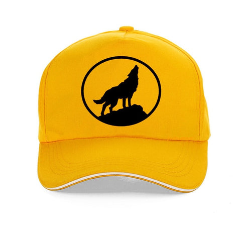 Yellow Scout Baseball Wolf Hat - American Wolves