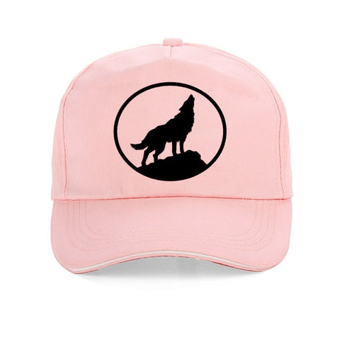 Pink Scout Baseball Wolf Hat - American Wolves