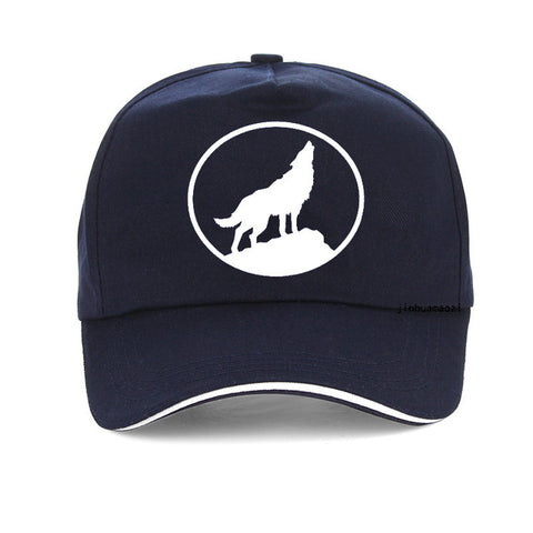 Navy Blue Scout Baseball Wolf Hat - American Wolves