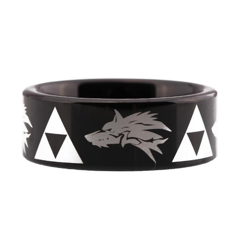 Nordic Hunter Wolf Ring - American Wolves