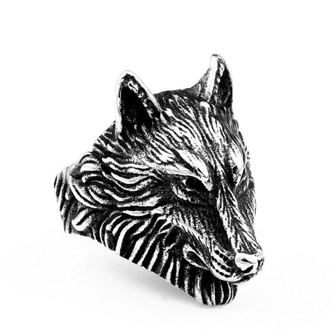 Guardian Wolf Ring - American Wolves