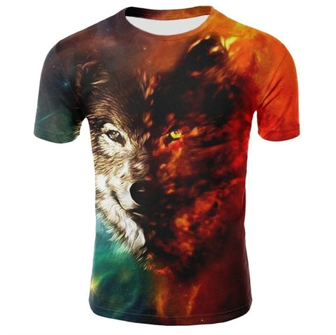 Dust & Fire Wolf T-Shirt - American Wolves
