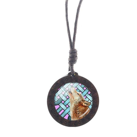 Time To Howl Wolf Necklace - American Wolves