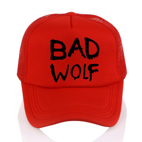 Red Trucker Bad Wolf Hat - American Wolves