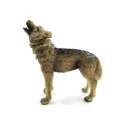 Roaring Wolf Figurine - American Wolves