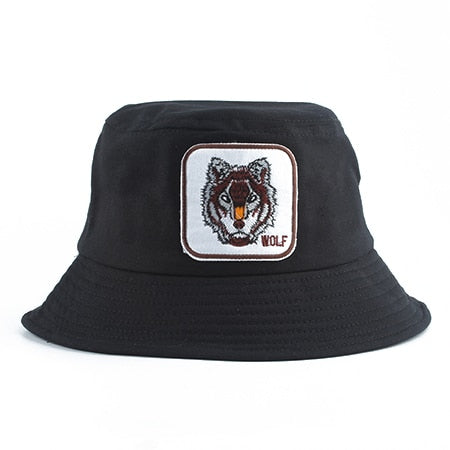 Black Wolf Bucket Hat - American Wolves