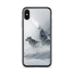 Winter Howling Wolf Phone Case - American Wolves