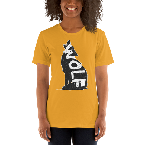 Wolf on Wolf T-Shirt - American Wolves