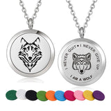 I Am A Wolf Necklace - American Wolves