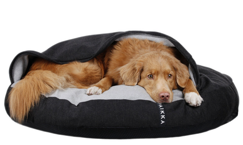 Paikka Recovery Burrow Bed helps to calm your dog and help with aching joints.