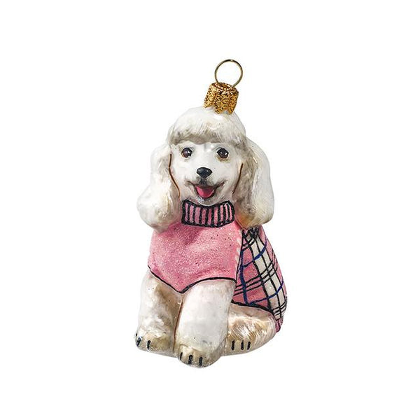 Poodle Ornament, Burberry Sweater