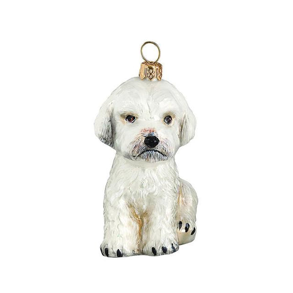 Maltipoo Luxury Christmas Ornament