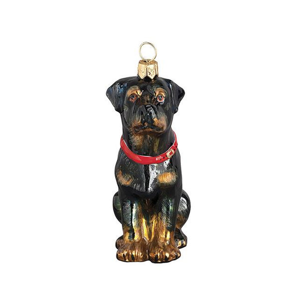 Rottweiler Luxury Christmas Ornament