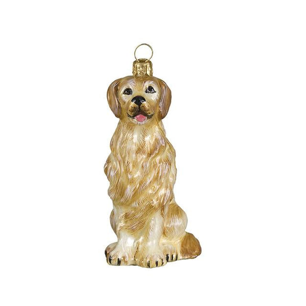 Golden Retriever Luxury Christmas Ornament