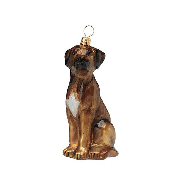 Rhodesian Ridgeback Luxury Christmas Ornament