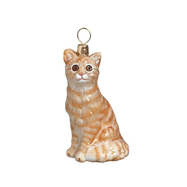 American Shorthair Cat Tree Ornament
