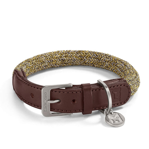 Lucca Dog Collar - Brown