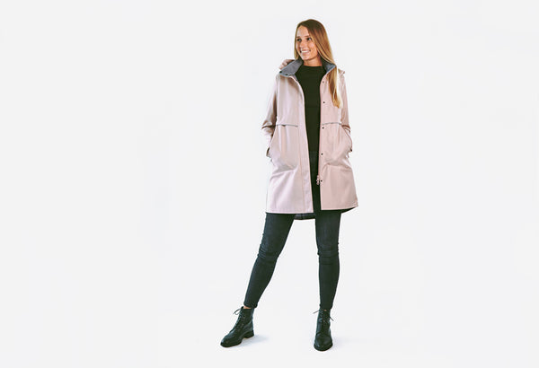 Franca Softshell Coat / Nude