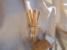 Load image into Gallery viewer, theotherstraw Original Bamboo Straws (5pk)