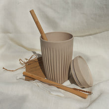 Load image into Gallery viewer, Smoothie/Juice/Iced Coffee Huskee Cup + Straw Bundle (for one)