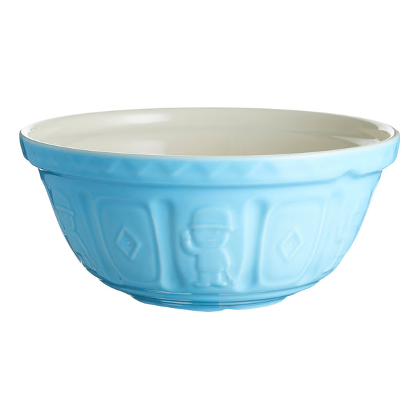 Mason Cash 29cm Ceramic Mixing Bowl - Iconic Fred in Blue - No Tokens Required