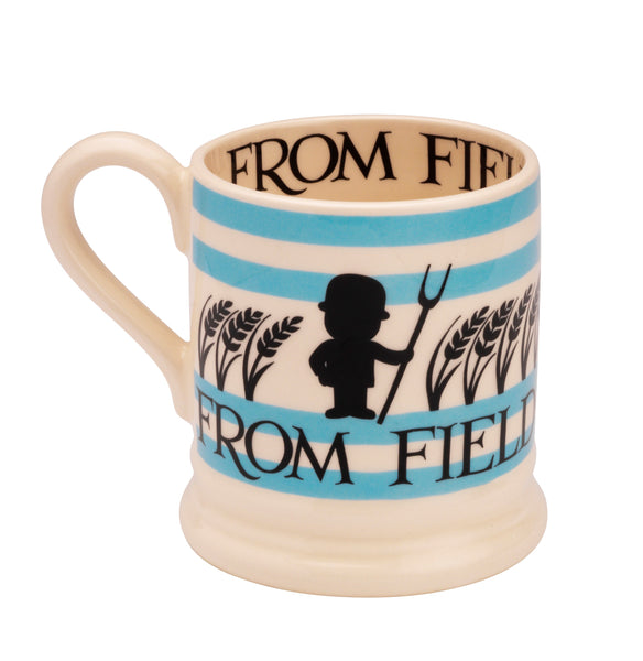 Emma Bridgewater 1/2 Pint Mug - Blue Field to Kitchen - (No Tokens Required)