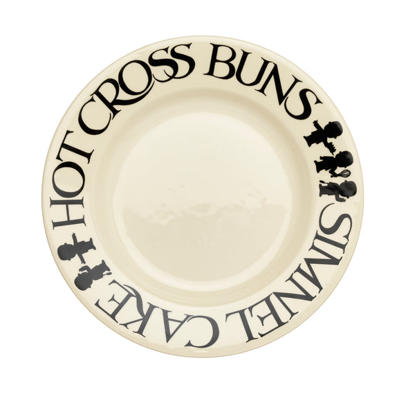 "*Special Edition Four Pack of Easter Bun 8.5"" Plates*"