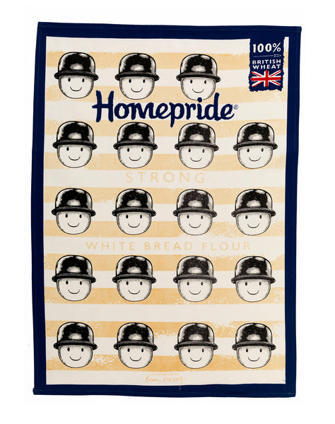 Tom Hovey Collaboration Homepride Tea Towel - Bread Flour (TOKENS REQUIRED)