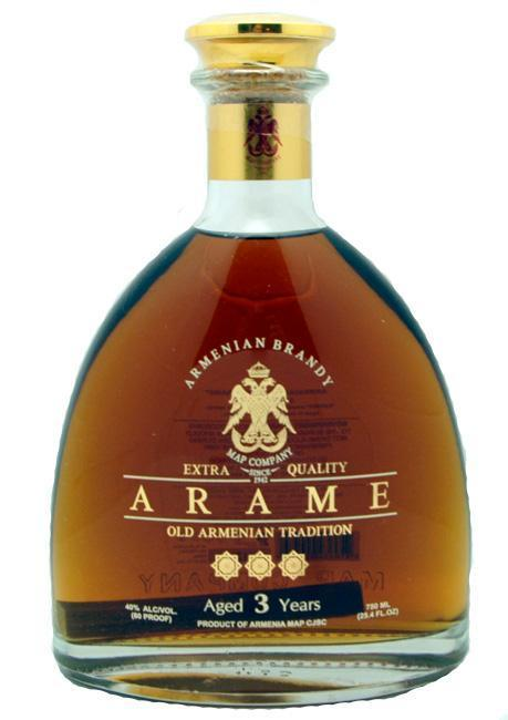 Arame Brandy Armenia 3Yr 750Ml