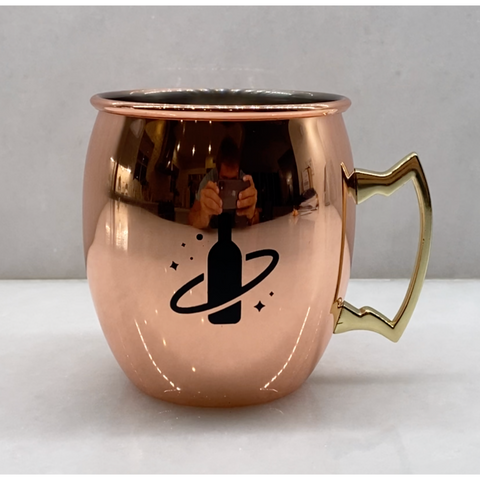 Copper Plated LiquorVerse Moscow Mule Cup