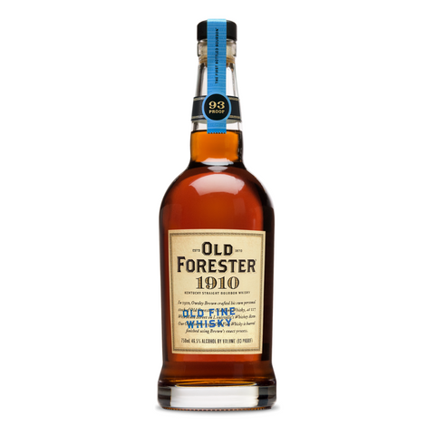 Old Forester 1910 Bourbon Old Fine Whiskey Kentucky 93Pf 750Ml