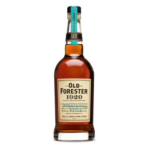 Old Forester Bourbon 1920 Prohibition Style 115Pf 750Ml