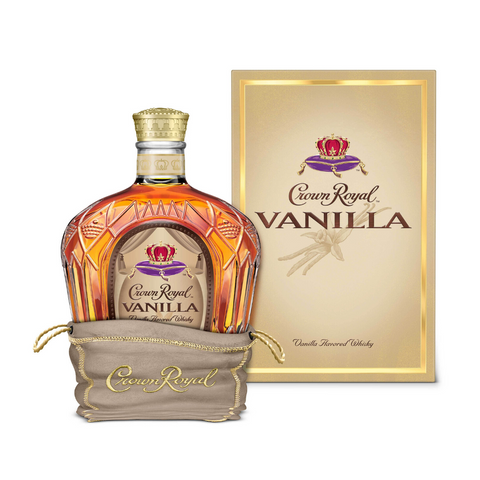 Crown Royal Whiskey Vanilla Flavored Canada 750Ml
