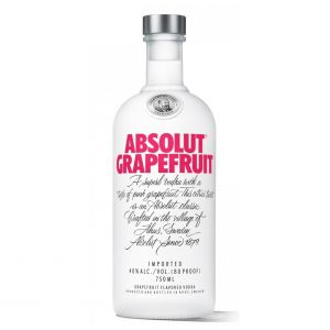 Absolut Vodka Grapefruit Flavored Sweeden 750Ml