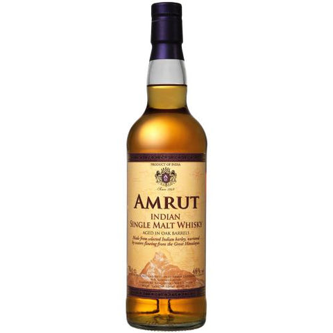 Amrut Whiskey Single Malt - 750mL