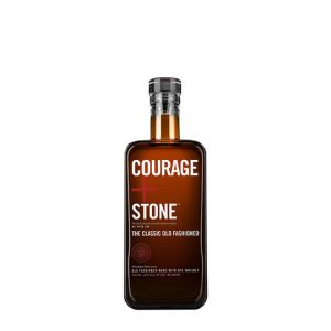 Courage And Stone The Classic Old Fashioned Made With Rye Whiskey 200Ml