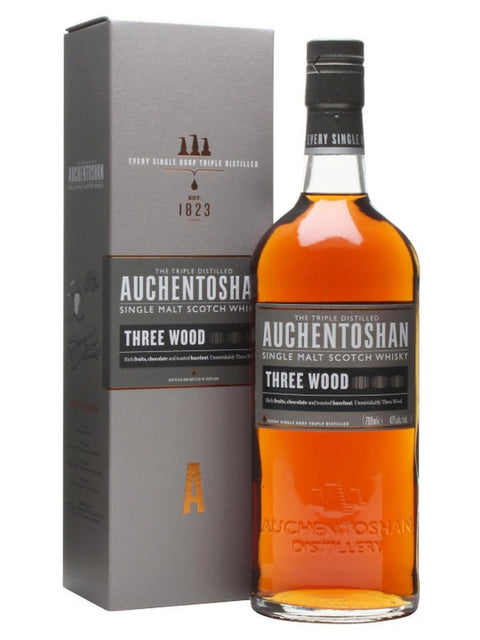 Auchentoshan Scotch Single Malt 3 Wood 86Pf 750Ml