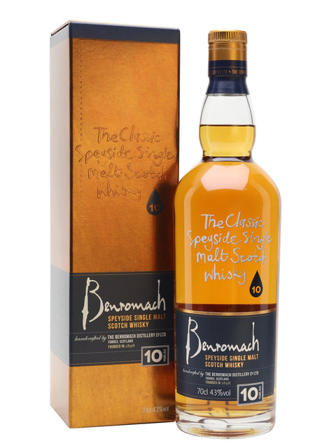 Benromach Scotch Single Malt Spyside 86Pf 10Yr 750Ml