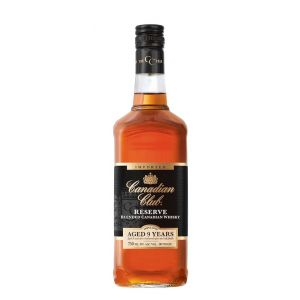Canadian Club Whiskey Blended Reserve Canadian 9Yr 750Ml