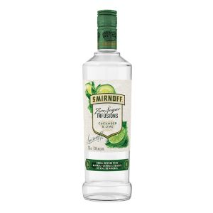 Smirnoff Vodka Cucumber Lime Zero Sugar 750Ml