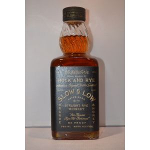 Slow And Low Whisky Rock & Rye 750Ml - liquorverse