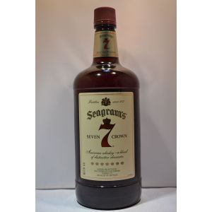 Seagrams Seven 7 Crown Whiskey Blended American 1.75Li - liquorverse