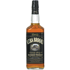 Ezra Brooks Bourbon Black Kentucky 90Pf 750Ml - liquorverse