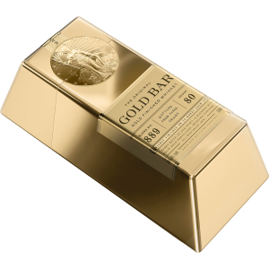 Gold Bar Whiskey Premium Barrel California 50Ml