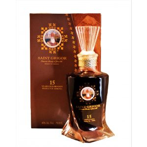 Saint Grigor Brandy Armenia 15Yr 750Ml