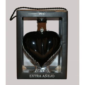 Grand Love Tequila Extra Anejo Black Heart 750Ml